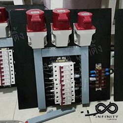 อุปกรณ์ที่ใช้ในการติดตั้งเสาไฟฟ้าแรงสูง